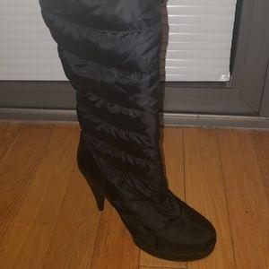 Betsey Johnson high heel winter boots size 10